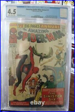The Amazing Spider-Man Annual #1 CGC 4.5 (Marvel) HIGH RES SCANS