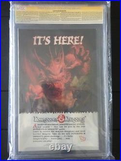 The Infinity Gauntlet #1 CGC 9.8 Newsstand variant Rare SS Stan Lee