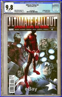 ULTIMATE FALLOUT #4 CGC Grade 9.8 NM/M 1st Appearance of MILES MORALES 1st PRINT