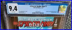 Ultimate Comics All-New Spider-Man #1 CGC 9.4Miles Morales Origin 2nd App