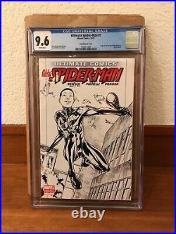 Ultimate Comics All-New Spider-Man #1 sketch variant! RARE! Miles Morales