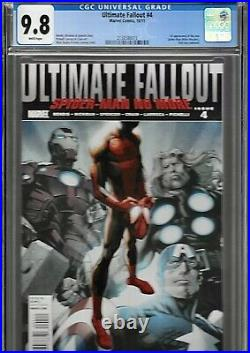 Ultimate Fallout 4 1st Print Variant CGC 9.8 WP 1st Miles Morales Spider-verse