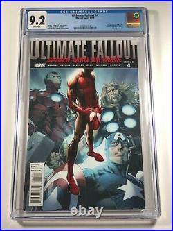 Ultimate Fallout #4 CGC 9.2 1st Print Marvel Comics 2011 Miles Morales Spiderman