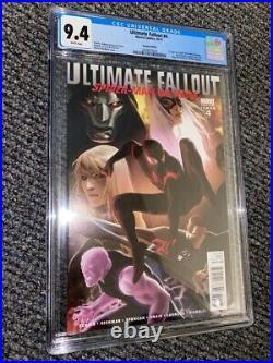 Ultimate Fallout #4 CGC 9.4 125 Djurdjevic Variant Miles Morales LOW BIN