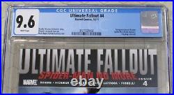 Ultimate Fallout #4 CGC 9.6 1st Appearance Miles Morales