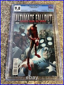 Ultimate Fallout 4 CGC 9.8 1st print First Appearance Of Miles Morales