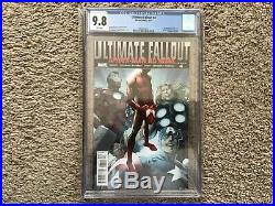 Ultimate Fallout 4 CGC 9.8 NM 1st Appearance Miles Morales