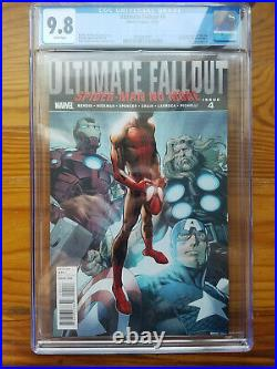 Ultimate Fallout 4 CGC 9.8 White 1st Print First Appearance MILES MORALES