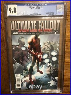 Ultimate Fallout 4 CGC 9.8 White Pages 1st print 1st Miles Morales