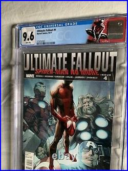Ultimate Fallout #4 Cgc 9.6 1st Mile Morales 1st Print