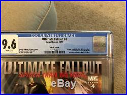 Ultimate Fallout 4 Djurdjevic Variant CGC 9.6 Brand New Slab 1st Miles Morales