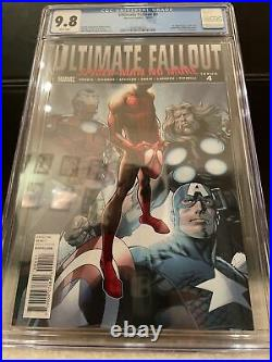 Ultimate Fallout #4 First Print CGC 9.8. First Miles Morales
