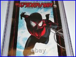Ultimate Spider-Man #1 CGC Universal Grade Comic 9.8 Origin of Miles Morales