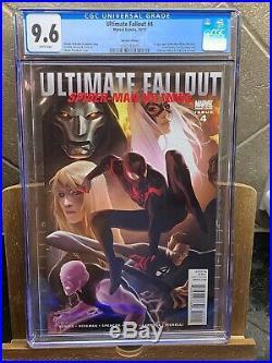 Ultimate fallout 4 djurdjevic variant CGC 9.6