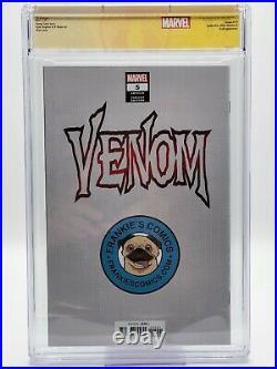 VENOM #5 SKAN VARIANT CGC 9.8 SS Signed Donny Cates Knull Cover