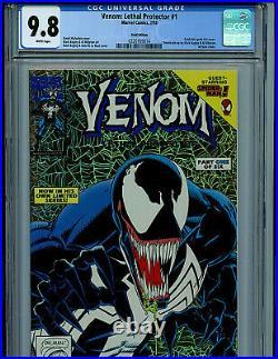 Venom #1 Lethal Protector Gold CGC 9.8 NM/M Marvel Comic Spider-man 1993 K6