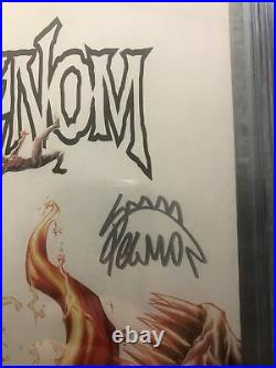 Venom #3 CGC 9.8 2x SS Signed Donny Cates/ Ryan Stegman 1st Appearance Knull