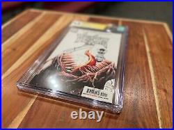 Venom 3 CGC 9.8 signed by Donny Cates and signed & sketch by Ryan Stegman