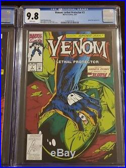 Venom Lethal Protector 1 2 3 4 5 6 CGC 9.8 NM/MINT 1-6 Movie First Appearance