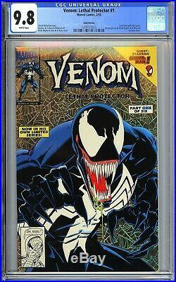 Venom Lethal Protector #1 Gold Edition CGC 9.8