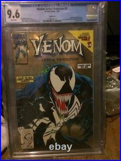 Venom Lethal Protector GOLD #1 CGC 9.6 1993 Spider-Man! Holo-Grafx! H7 118 cm
