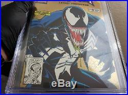 Venom Lethal Protector Gold #1 CGC 9.8 Spider-Man Holo-Grafx Variant
