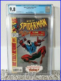 Web of Spider-man #118 CGC 9.8 WHITE Pages (First appearance)